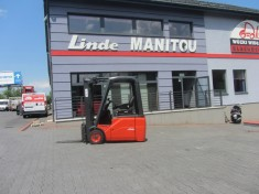 Electric 3 wheel Linde E16C-01 Duplex