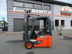 Electric order picker Linde N20 with rectifier