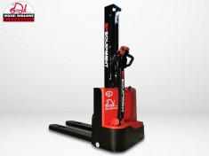 Electric pallet truck with mast BD-10-SM